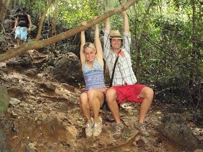Inside Cat Ba jungles, Vietnam eco tour