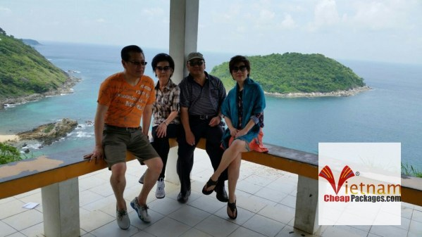 Sep 2014 – Mr. Priyono family in Thailand beach holidays