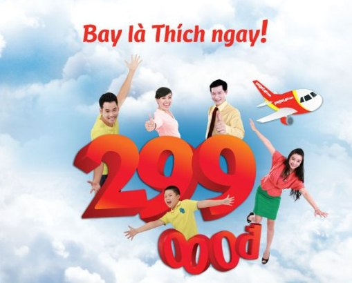 Vietjet Air promotion discounts