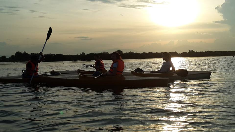 Hoi An kayaking on Thu Bon river