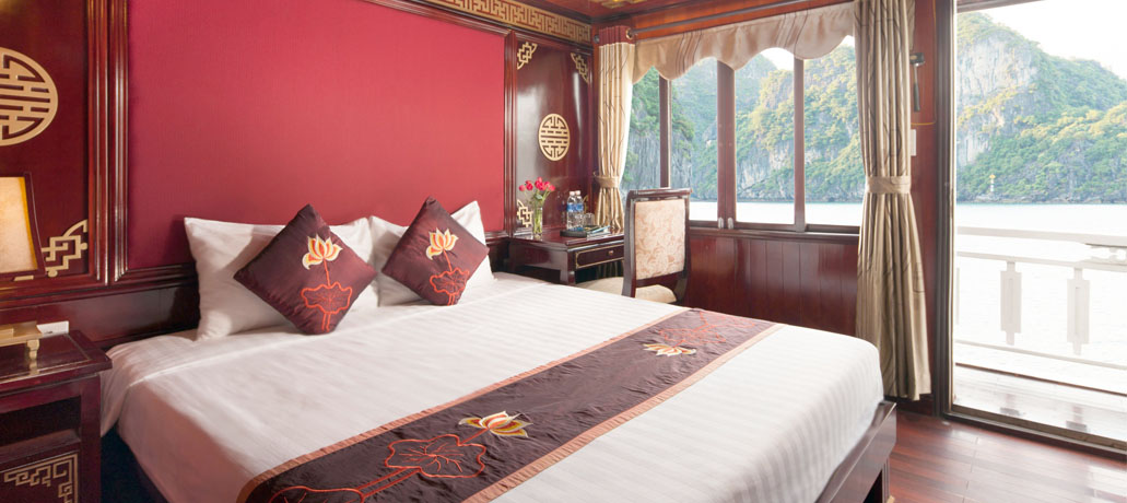 Halong Legacy cruise - Double room.