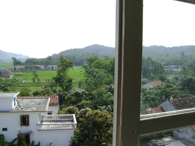 View from your room in Song Chau villa