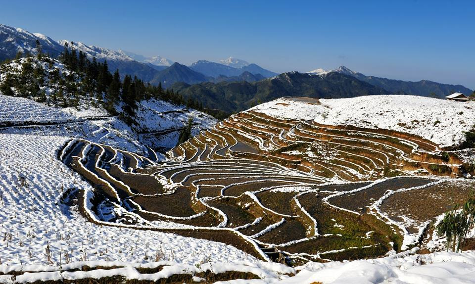Snow days are Not the best time to visit Sapa
